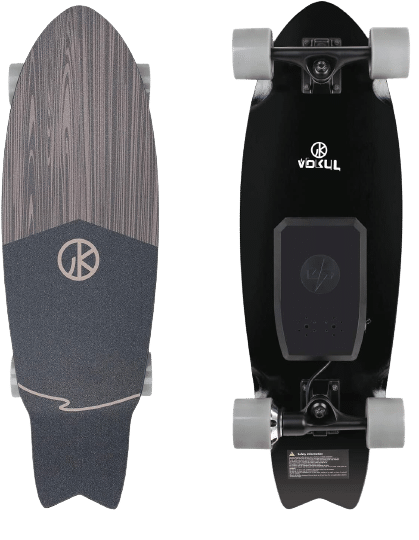WOOKRAYS Electric Skateboard No Background