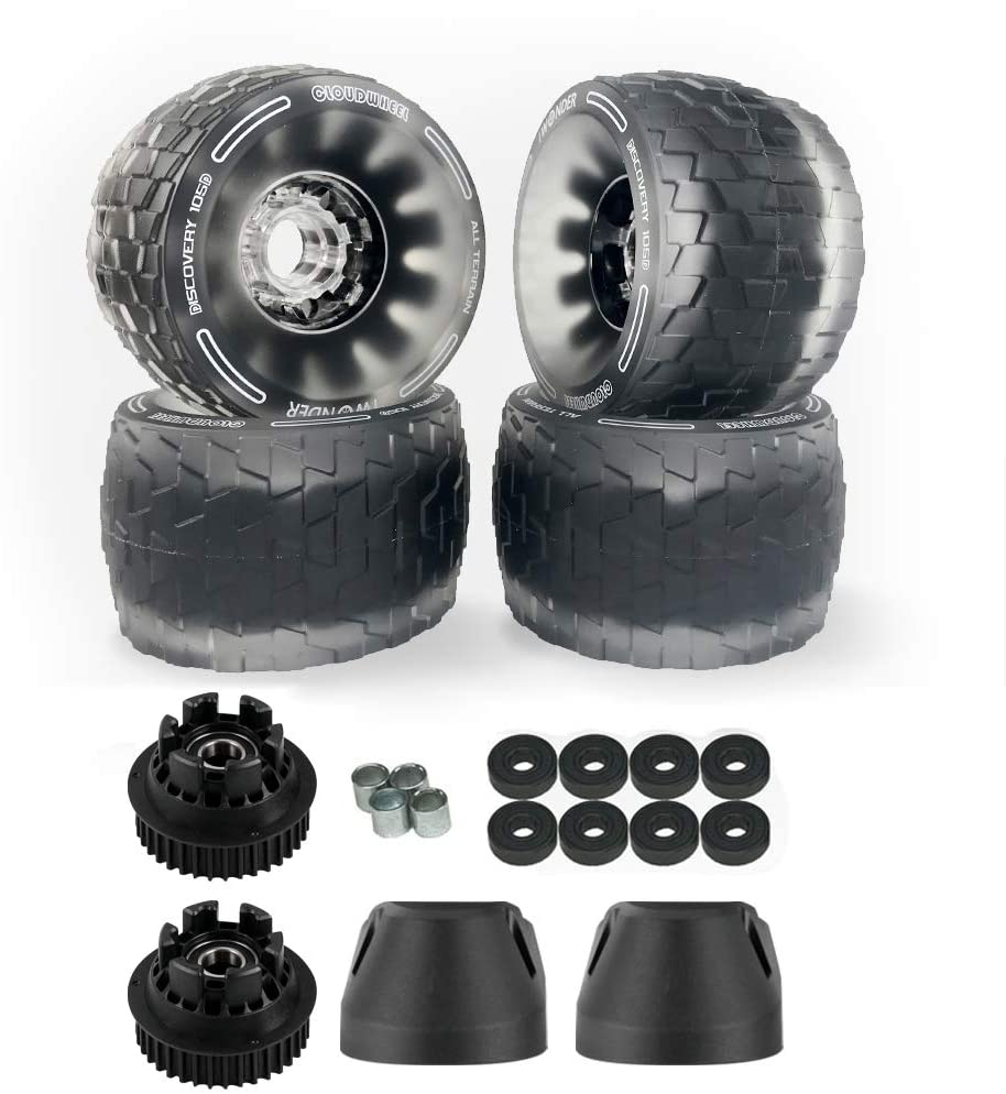 IWONDER Electric Skateboard Wheels and Pulley Conversion Kit
