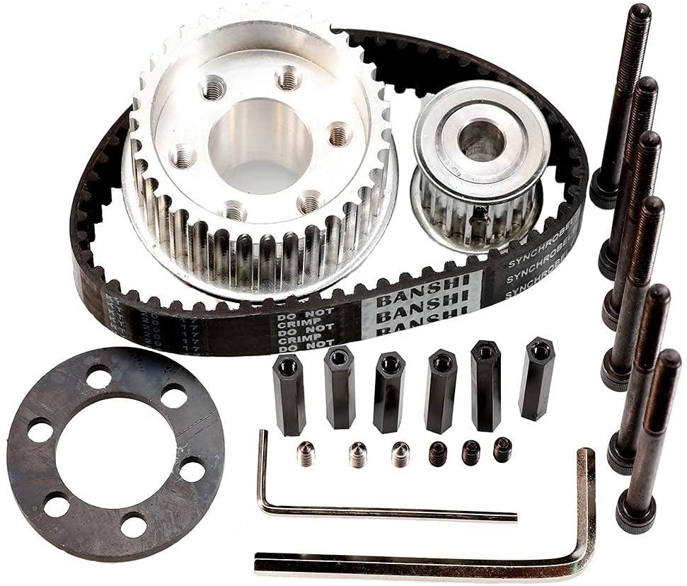 parts of Vanpro DIY Electric Skateboard Wheel Kit Set