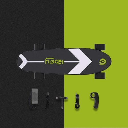 Hiboy S11 Electric Skateboard - close up
