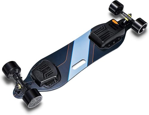 MEEPO V3 Electric Skateboard with Remote - close up