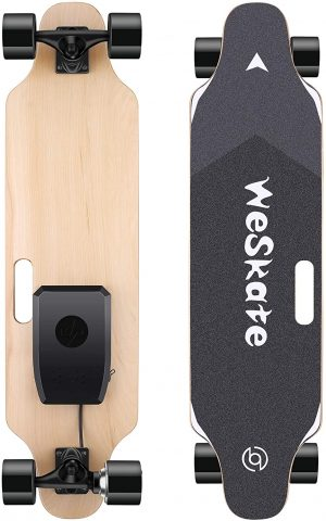 WeSkate 35 inch Electric Longboard with Remote Controller