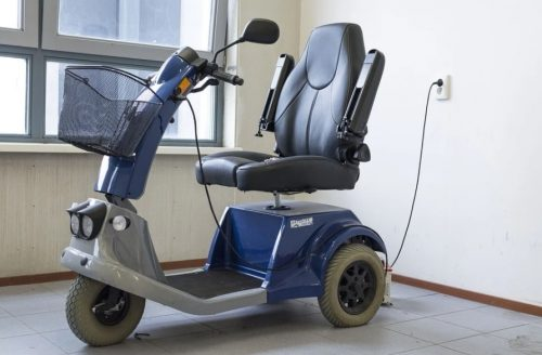 charging mobility scooter